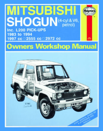 Haynes reparationshandbok - Mitsubishi Shogun and L200 Pick-Ups