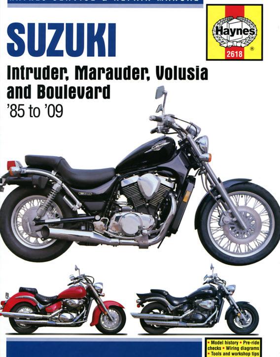 Haynes reparationshandbok - Suzuki Intruder, Marauder, Volusia & Boulevard
