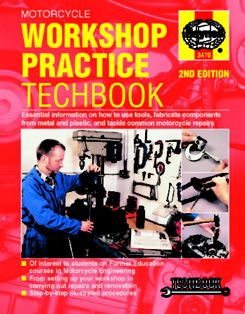 Haynes reparationshandbok - Motorcycle Workshop Practice TechBook