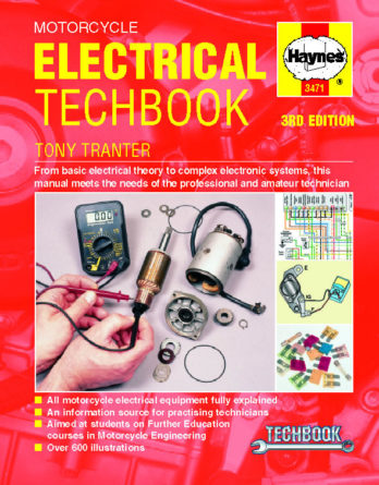Haynes reparationshandbok - Motorcycle Electrical TechBook