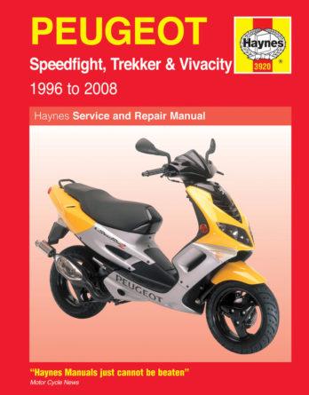 Haynes reparationshandbok - Peugeot Speedfight, Trekker & Vivacity Scooters