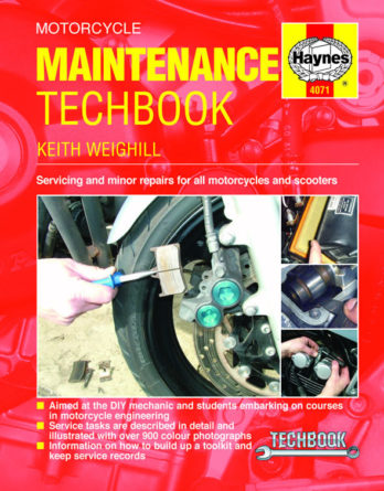 Haynes reparationshandbok - Motorcycle Maintenance TechBook
