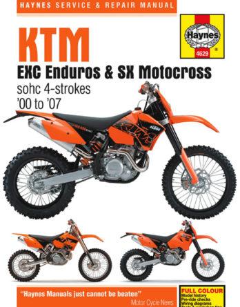 Haynes reparationshandbok - KTM EXC Enduro & SX Motocross