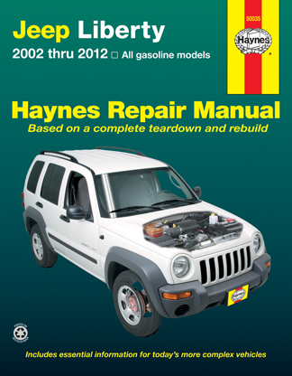 Haynes reparationshandbok - Jeep Liberty