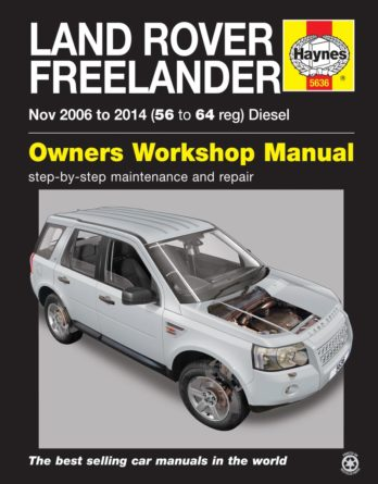 Haynes reparationshandbok - Land Rover Freelander