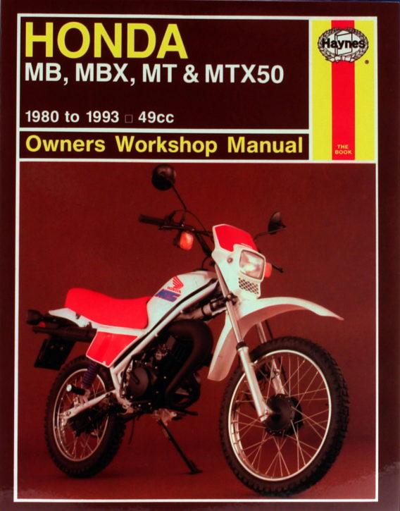 Haynes reparationshandbok - Honda MB, MBX, MT & MTX50
