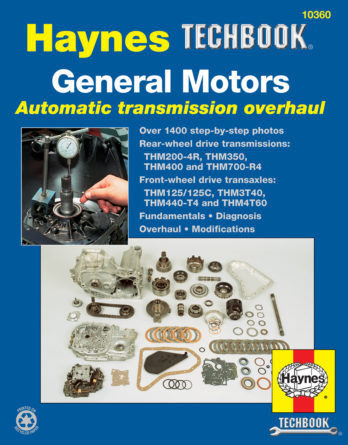Haynes reparationshandbok - General Motors Automatic Transmission Overhaul Manual