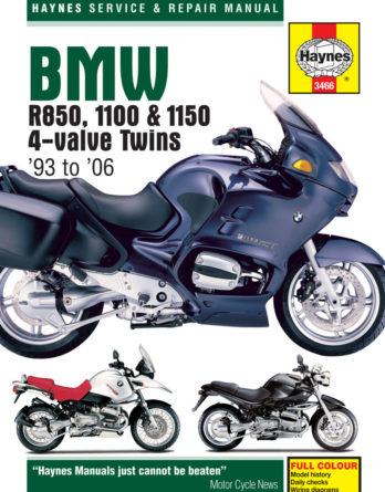 Haynes reparationshandbok - BMW R850, 1100 & 1150 4-valve Twins