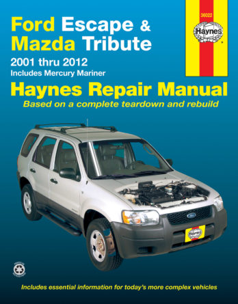 Haynes reparationshandbok - Ford Escape, Mazda Tribute & Mercury Mariner