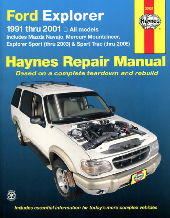 Haynes reparationshandbok - Ford Explorer, Mazda Navajo and Mercury Mountaineer
