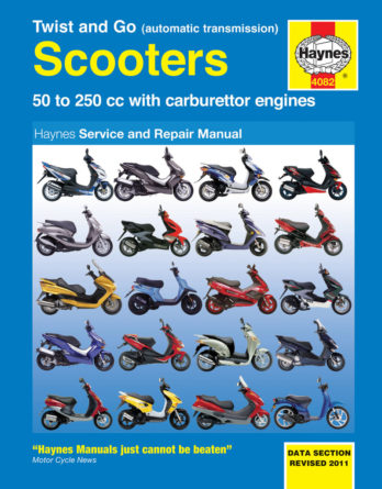 Reparationshandbok - Twist & Go (automatic transmission) Scooters Repair Manual
