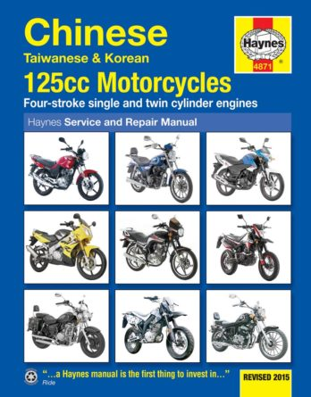 Haynes reparationshandbok - Chinese, Taiwanese and Korean 125 cc Motorcycles