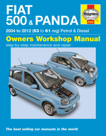 Haynes reparationshandbok - Fiat 500 & Panda