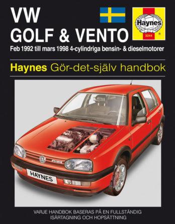 Haynes reparationshandbok - Volkswagen Golf III/Vento