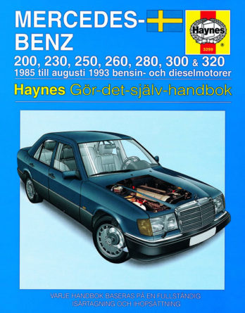 Haynes reparationshandbok - Mercedes-Benz 124-serien