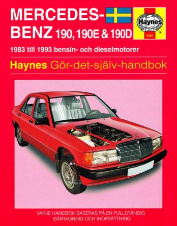 Haynes reparationshandbok - Mercedes-Benz 190, 190E & 190D