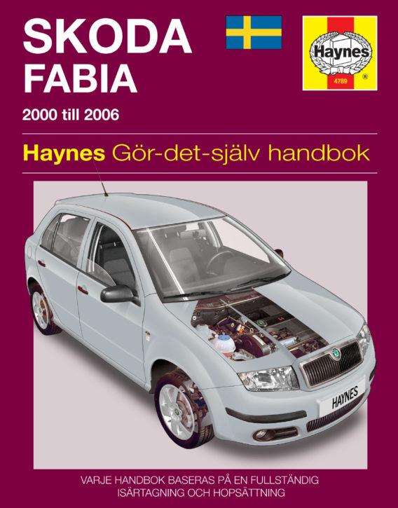 Haynes reparationshandbok - Skoda Fabia