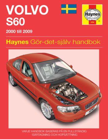 Haynes reparationshandbok - Volvo S60