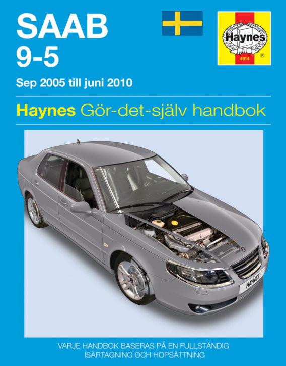 Haynes reparationshandbok - Saab 9-5