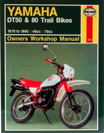 Haynes reparationshandbok Yamaha DT50 & 80 Trail Bikes från Haynes