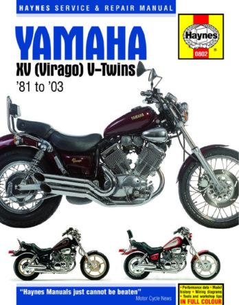 Yamaha XV Virago reparationshandbok Haynes