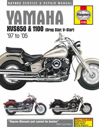 Haynes reparationshandbok Yamaha XVS650 & 1100 Drag Star/V-Star från Haynes