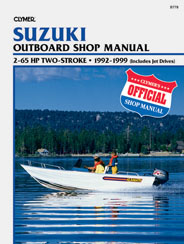 Reparationshandbok - Suzuki 2 - 65 HP Outboards & Jet Drives