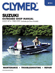 Reparationshandbok - Suzuki 2 - 225 HP Outboards & Jet Drives