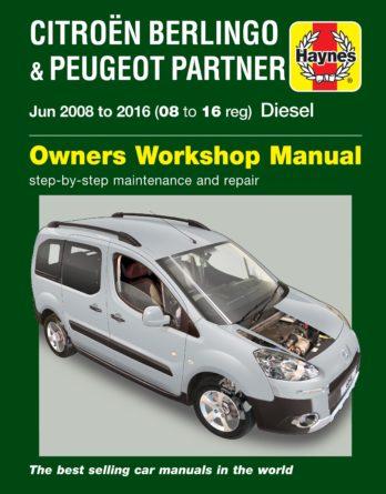 Haynes reparationshandbok - Citroen Berlingo & Peugeot Partner