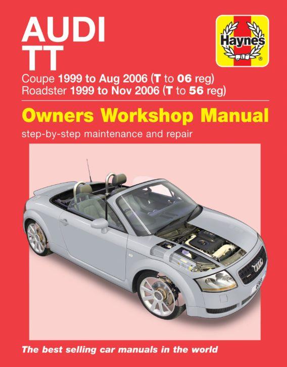 Audi TT Haynes reparationshandbok